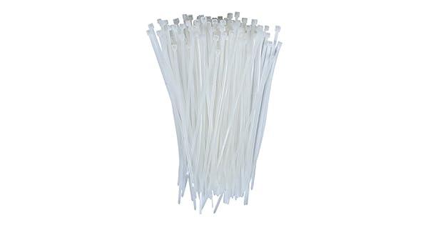 VNDEFUL - Lazos de nailon para cables de 10 cm, resistentes ...