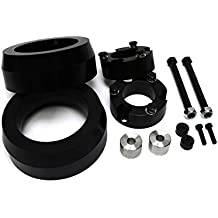 2003 - 2014 4Runner 2007 - 2015 FJ Cruiser 3 Inch Front 2 Inch Rear BIG BRAWNS 6061T6 Aircraft Billet Strut Spacers High Strength Polyurethane Spring Spacers and Diff Drop