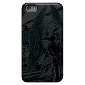 Bumper phone cover shell Cases Covers Protector for iphone 5cShock Absorbing iphone 5c case 6p - megadeth