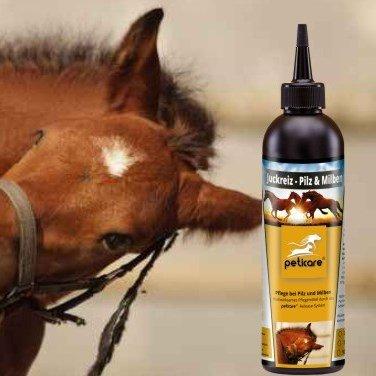Pilz und Milben beim Pferd - Juckreiz durch Pilzbefall und Milbenbefall 1000 ml