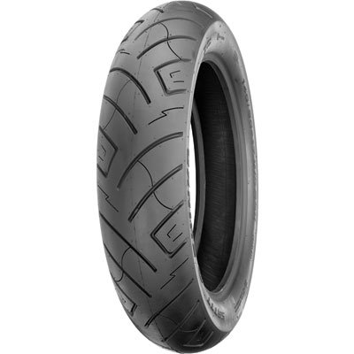 Shinko 777 Front Motorcycle Tire 110/90-19 (62H) Black Wall for Honda VTX1300C 2004-2009 by Shinko