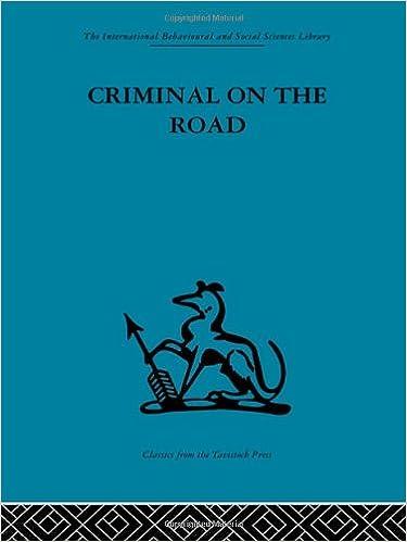 criminal on the road willett t c