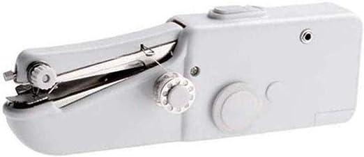 Yuaer Máquina de coser portátil, mini kit de reparación de hogar ...