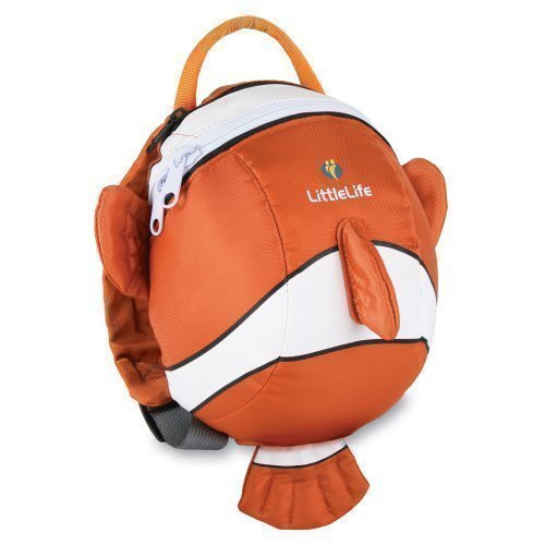 Littlelife Toddler Clown Fish Daysack With Safety Wrist Rein Lifemarque L10810