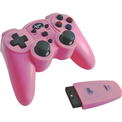 - Magna Force RF Wireless Controller For PS2 - Pink (Magna Force RF Wireless Controller For PS2? - Pink)