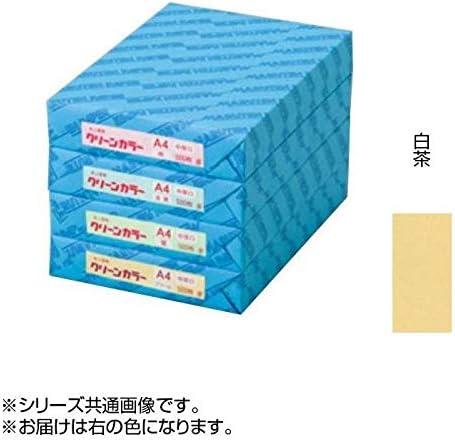 POPやチラシの印刷に! クリーンカラー A3 特厚口 17 白茶 500枚包 C513-17 〈簡易梱包