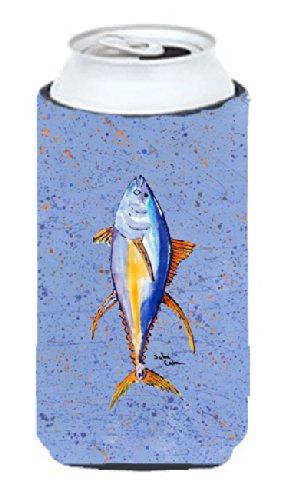 Caroline Treasures 8349LITERK - Botella de vino, diseño de delfín, atún, Multicolor, Tall Boy, 1