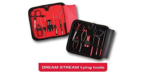 Umpqua Dream Stream 7-Piece Fly Tying Kit (Red)