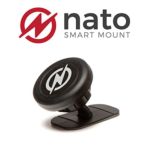 Nato Smart Mount - Magnetic Smart Device Holder Universal Adhesive