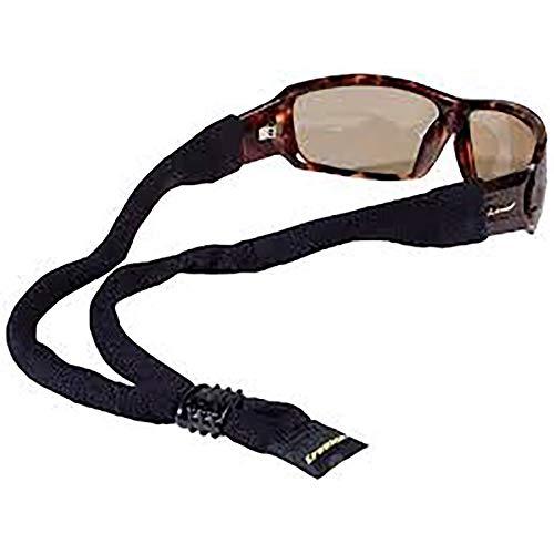 Croakies XL Cotton Suiter Eyewear Retainer Black Adjustable Strap(4-Pack)