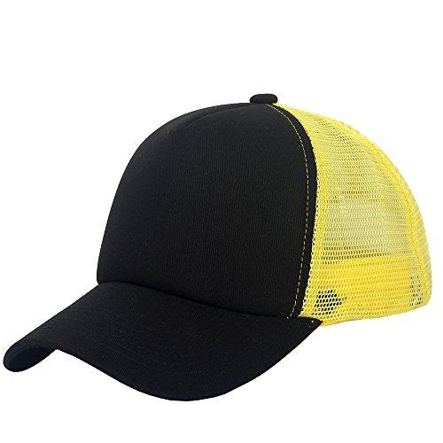 oriental spring hombre Yellow de béisbol para Black Gorra zzwUqr