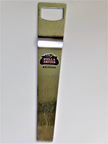 Stella Artois Stainless Steel Beer Bottle Opener w/Logo ~ Wrench Bartender Paddle Style