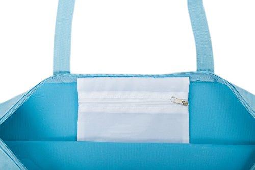Mar suave Suave Caballo Piezas Fairee de de Para de Bolsa Airee Playa 2 Mujer Playa Toalla Azul Azul pwZxPTq