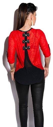 Koucla - Camisas - para mujer Red/black