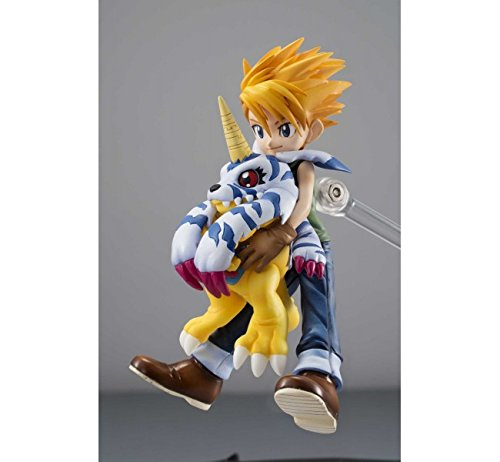 Digimon Adventure Yamato Ishida /& Gabumon GEM PVC Figures w Stand Collectible china