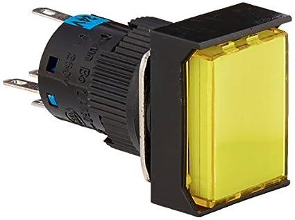 eDealMax DC 24V Luz pulsador momentáneo interruptor de botón con un conector hembra