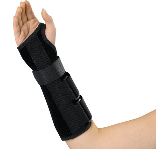 Medline Wrist and Forearm Splint, Right, X-Large, 10 Inch ()