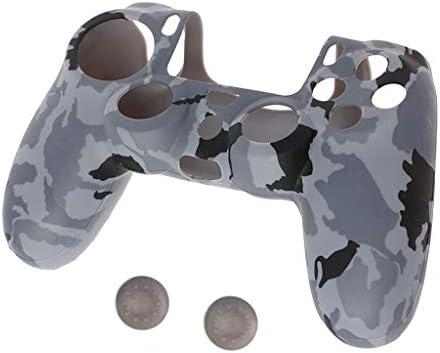 LIskybird - Funda de Silicona para Mando de Playstation 4 PS4 Pro Slim (3 en 1, Antideslizante), diseño de Camuflaje: Amazon.es: Electrónica