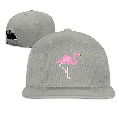 Flamingo Flat Brim Baseball Hat