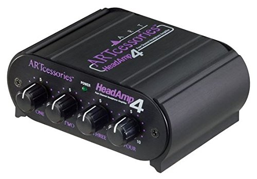 - ART HeadAMP4 Eight Output Stereo Headphone Amplifier