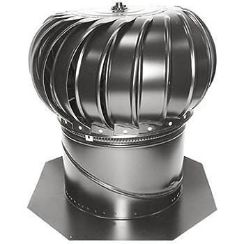 5 Quot Galvanized Turbine Ventilator Roof Vents Amazon Com