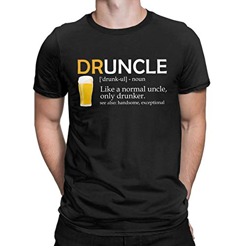 Druncle | Like A Normal Uncle Only Drunker Funny T Shirt Best Gift for Drunk Uncle Tees Tops