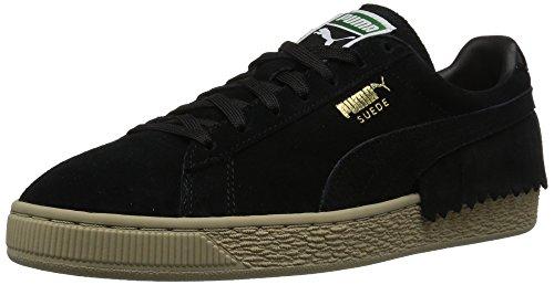 Puma Suede TSSL Wn, Damen Sneaker Puma Black-puma Black