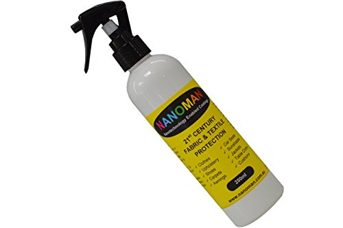 Shoe Protector Spray - Water Repellent/Waterproof for Suede, Leather, Canvas, Nubuck & Fabric Boots. Latest Hydrophobic Nano-Tech Formula. Eco-friendly. Fluoropolymers, Alcohol & Silicone Free (Suede Protector Boots)