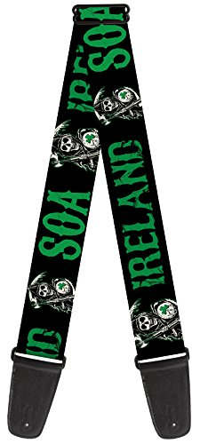 Sons of Anarchy Theme Nylon Guitar Strap -