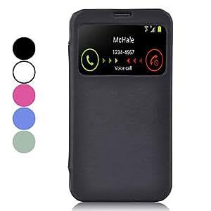 Wohai Gadget Mall - De gama alta caja protectora de cuero de la PU con la pantalla visible para Samsung Galaxy I9200 Mega 6.3 (varios colores) , Rose