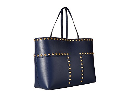 Tory Burch Block-T Ladies Large Leather Tote Handbag 44327403 by Tory Burch (Image #2)