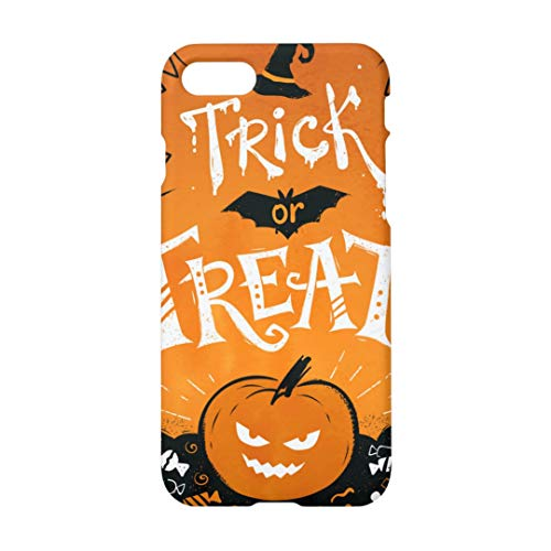 Trick Or Treat iPhone 7 Plus/8 Plus Case, Halloween Pumpkin Smiley Face Case for iPhone 7 Plus/8 Plus Case for $<!--$11.99-->