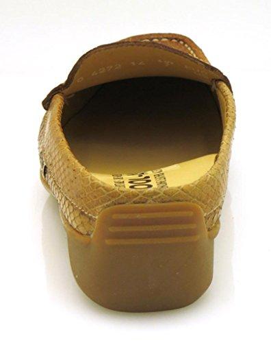 Cuir en Cuir en Marron Mule Mule Nedina Mephisto Chaussures Sabots POwWtxPHZ
