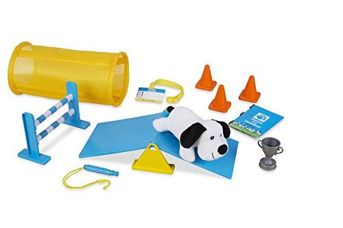 Melissa & Doug Tricks & Training Puppy School Play Set with Stuffed Animal Plush Dog (12 Pcs) ()