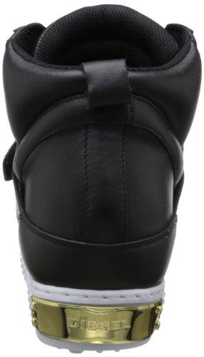 Diesel Damen Sneaker Plateau Schuhe Belair D-Prince W Schwarz