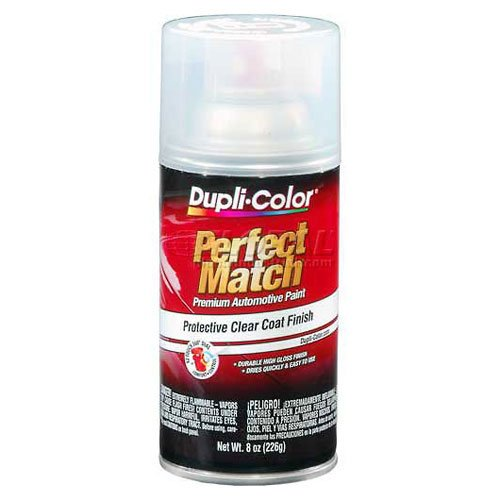 Price comparison product image Dupli-Color Exact-Match Automotive Top Coat Clear 8 Oz. Aerosol - Lot of 6