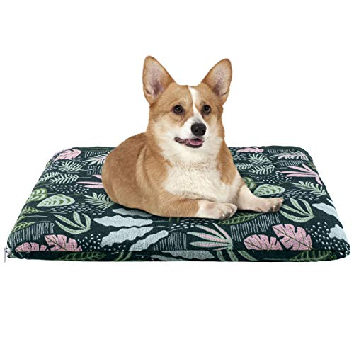 Dololoo Durable Canvas Dog Bed, 21 inch Machine Washable Pet Mattress with Removable Cover, Warm and Comfortable Dog…