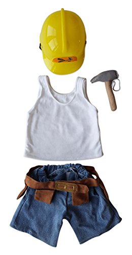 Construction Worker Set Outfit Fits Most 14