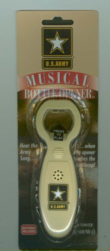 Army Black Knights Talking Bottle Opener (Talking Bottle Opener Ncaa compare prices)