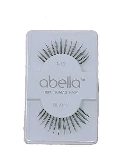 #13 Abella, 100% Human Hair False Eyelashes, Made in Indonesia