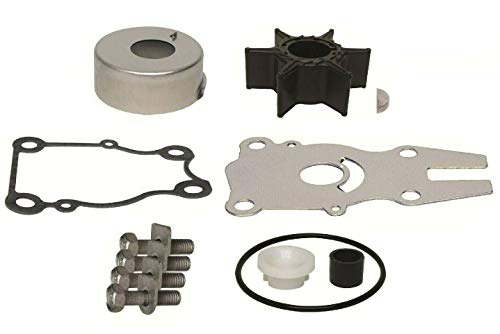 GLM Water Pump Impeller Repair Kit for Yamaha 2-Stroke 40, 50 Hp & 4-Stroke 40, 50, 60 Hp, Replaces 63D-W0078-01-00, 18-3434 Please Read Product Description Below for Exact Applications