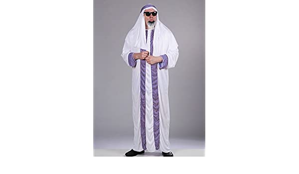 Magic Box Disfraz de jeque árabe para Adultos XL (44-48