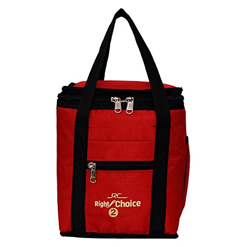 Right Choice Kid #39;s Denim Lunch Bag  Red
