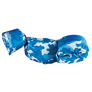 Stearns Puddle Jumper Deluxe Life Jacket, Blue Camo, 30-50 lbs