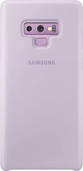 Samsung - Funda de silicona para Galaxy Note 9, color púrpura (lavanda)- Version española: Amazon.es: Electrónica