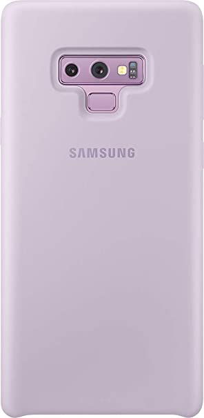san francisco 57af9 87060 Samsung Galaxy Note9 Case, Silicone Protective Cover, Lavender Purple