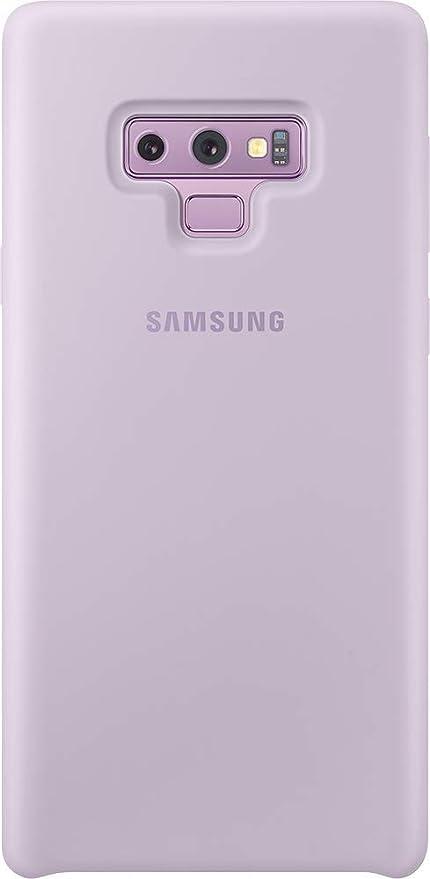 Samsung - Funda de silicona para Galaxy Note 9, color púrpura (lavanda)-