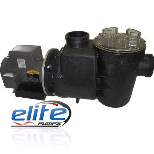 Elite Primer Pro 3 Series 18500 GPH External Pond Pump with 3-inch Unions 18500PRM47
