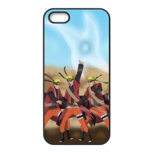 Naruto ShiPpuden 3 coque iPhone 4 4S Housse téléphone Noir de couverture de cas coque EOKXLKNBC21586