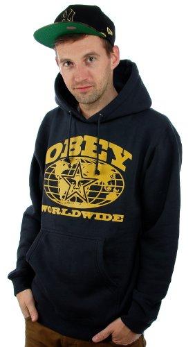 Obey -  Felpa con cappuccio  - Uomo